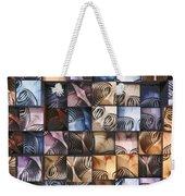 Springs And Squares Weekender Tote Bag