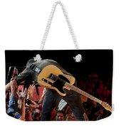 Springsteen In Charlotte Weekender Tote Bag