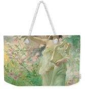 Springtime Allegory Weekender Tote Bag