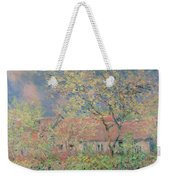 Springtime At Giverny Weekender Tote Bag by Claude Monet