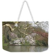 Springtime At The Pond Weekender Tote Bag