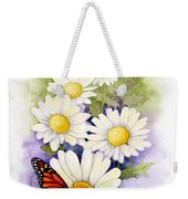 Springtime Daisies  Weekender Tote Bag