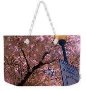 Springtime In Charlotte Weekender Tote Bag by Lydia Holly