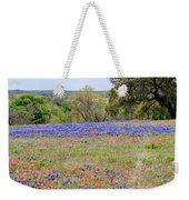 Springtime In Texas Weekender Tote Bag