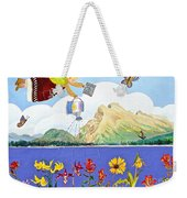 Springtime In The Rockies Weekender Tote Bag