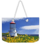 Springtime Lighthouse Weekender Tote Bag
