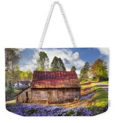 Springtime On The Farm Weekender Tote Bag