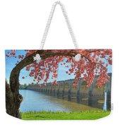 Springtime On The River Weekender Tote Bag