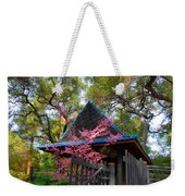 Springtime Pagoda Weekender Tote Bag