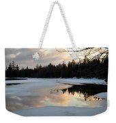 Springtime Reflection Weekender Tote Bag