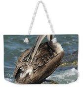 Sprucing Pelican Weekender Tote Bag