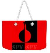 Spy Vs Spy Weekender Tote Bag