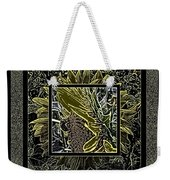 Sq Sunflower Stack Cont L Weekender Tote Bag