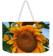 Squamish Sunflower Portrait Weekender Tote Bag