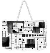 Square Weekender Tote Bag