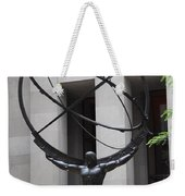 Square Shoulders - Hercules Statue Weekender Tote Bag