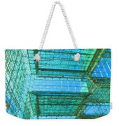 Squares And Triangles Weekender Tote Bag