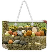 Squash Gourds And Pumpkins Weekender Tote Bag