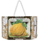 Squash On Vintage Tin Weekender Tote Bag