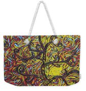 Squiggling In The Wind Weekender Tote Bag