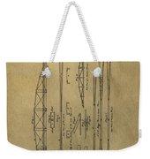 Squire Whipple Truss Bridge Patent Weekender Tote Bag