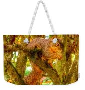 Squirrel Away Acorn Weekender Tote Bag
