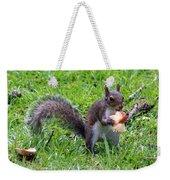 Squirrel Eats Mushroom Weekender Tote Bag