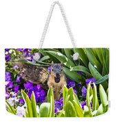 Squirrel In The Botanic Garden Weekender Tote Bag