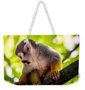 Squirrel Monkey Weekender Tote Bag