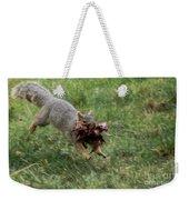 Squirrel Nest Bulding Weekender Tote Bag