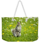 Squirrel Patrol Weekender Tote Bag