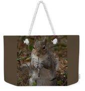 Squirrel With His Obo Weekender Tote Bag