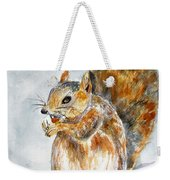 Squirrel With Nut Weekender Tote Bag
