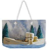 Ss More Weekender Tote Bag by Heather Applegate