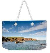 St Abbs Cliffs Weekender Tote Bag
