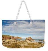 St Abbs Rocky Shoreline Weekender Tote Bag