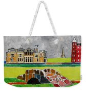 St Andrews Swilcan Bridge Weekender Tote Bag