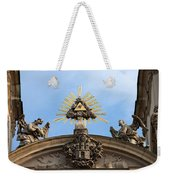 St Anne's Church In Budapest Architectural Details Weekender Tote Bag