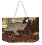 St Anne's Church In Winter Weekender Tote Bag
