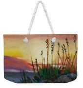 Beach At Sunrise Weekender Tote Bag