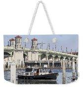St Augustine Bridge View Weekender Tote Bag