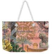 St. Augustine Florida Vintage Collage Weekender Tote Bag
