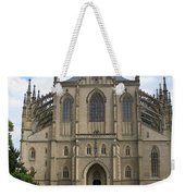 St Barbaras Cathedral Kutna Hora Czech Republic Weekender Tote Bag