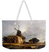 St Benets Abbey And Mill, Norfolk, 1833 Weekender Tote Bag