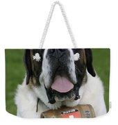 St. Bernard Dog Weekender Tote Bag