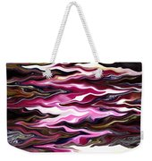 St Brigid Pink Waves Weekender Tote Bag