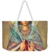 St. Catherine Weekender Tote Bag by Zorina Baldescu