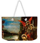 St Cecilia The Angels Announcing Her Coming Martyrdom Weekender Tote Bag
