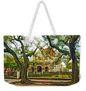 St. Charles Ave. Mansion Paint Weekender Tote Bag