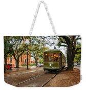 St. Charles Ave. Streetcar In New Orleans Weekender Tote Bag
